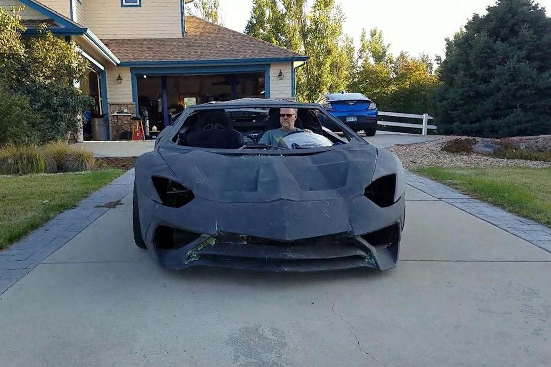 网民以 3D 打印技术打造真正可驾驶 Lamborghini Aventador