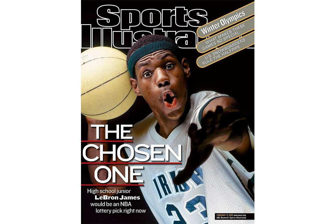 LeBron James 拍摄《Sports Illustrated》封面所着球衣卖出 $187,500 美元