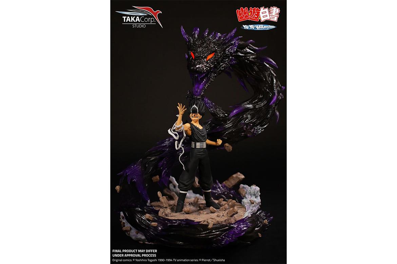 Taka Corp Studio 推出《幽游白書》飛影 1/6 比例雕像