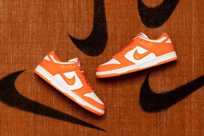 Nike Dunk Low「Syracuse」雪城大学配色发售情报公开!