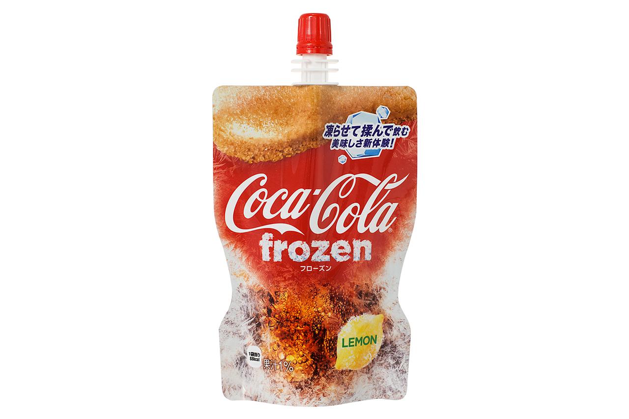 「新食感」再临!日本 Coca-Cola 推出柠檬口味可乐冰沙