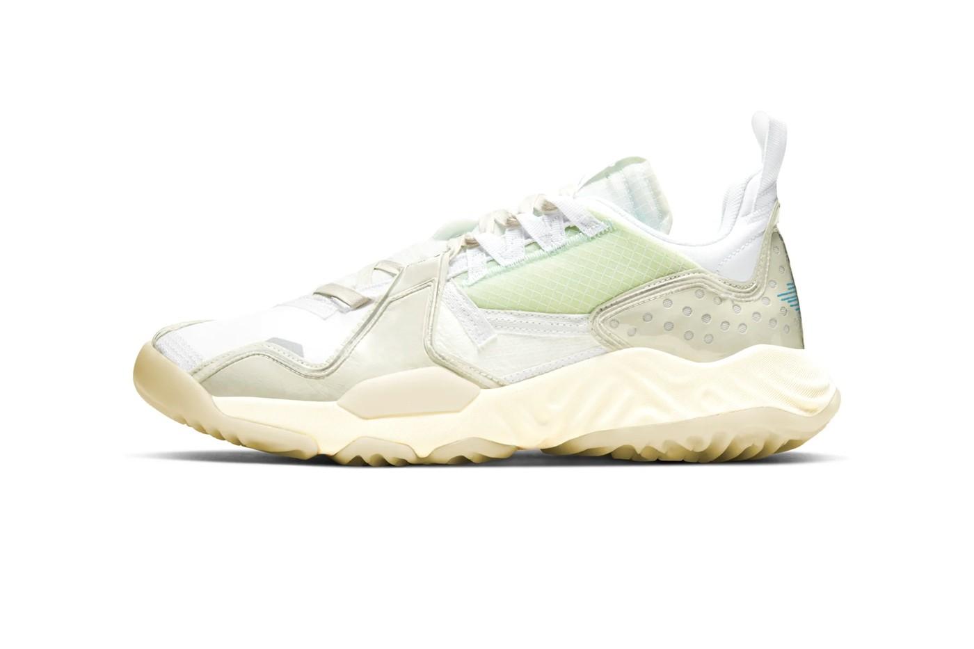 Jordan Brand 全新鞋型 Delta SP「Sail」配色即将正式发布