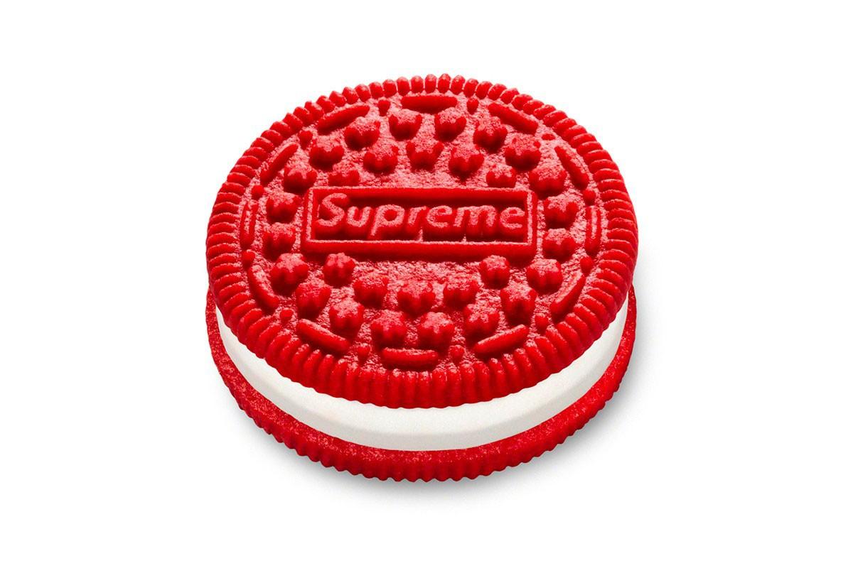 潮流之美食!Supreme x Oreo 联名曲奇饼干本周上架