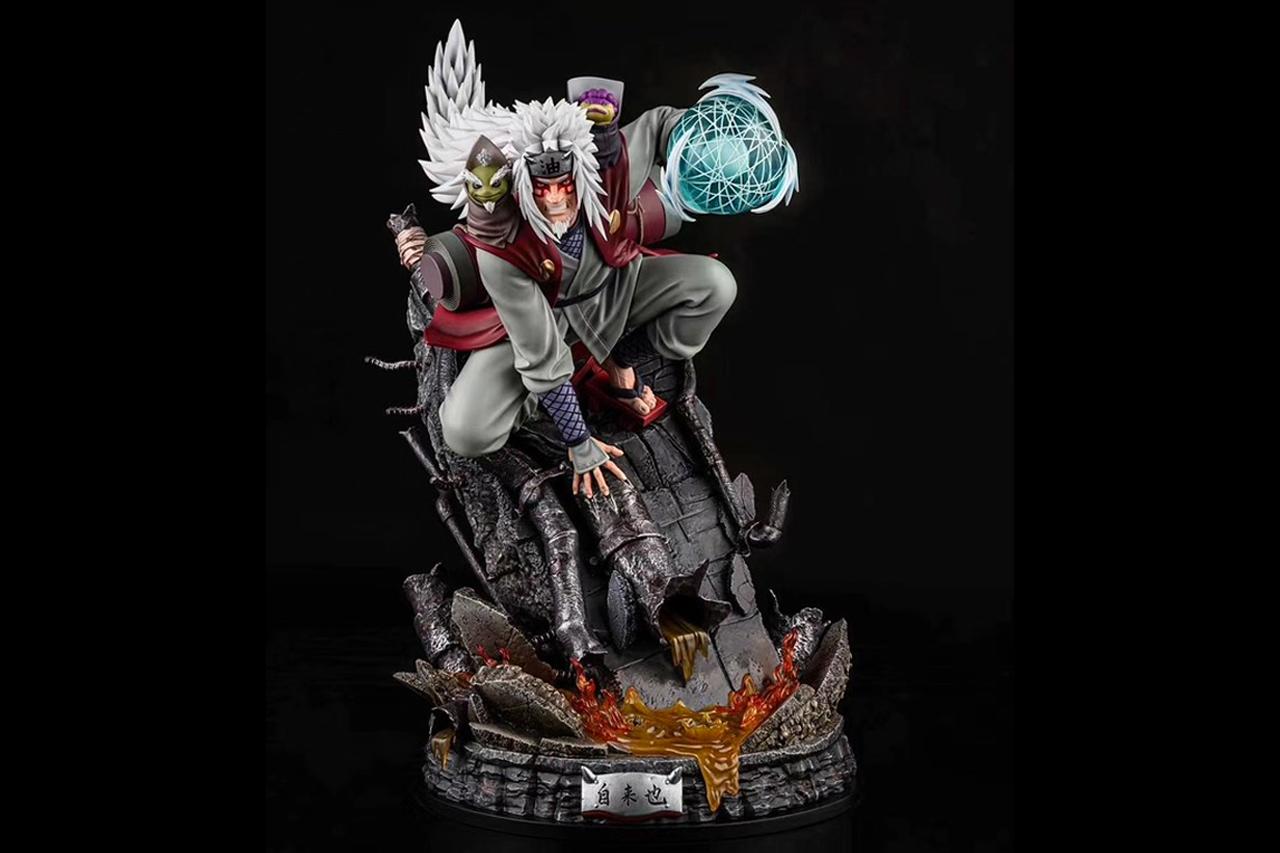 光年工作室推出《火影忍者》仙人模式自来也《再见,老师》1:4 场景雕像