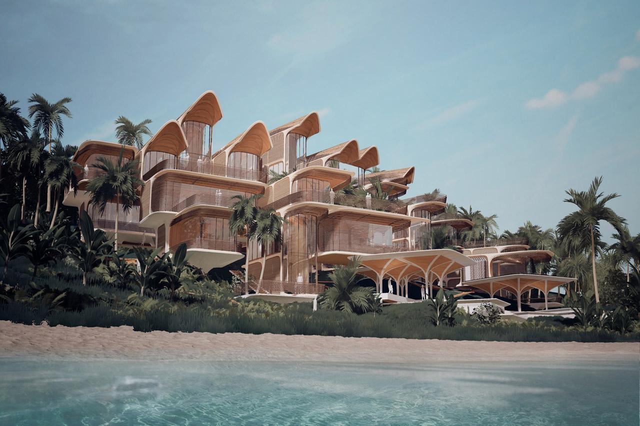 走进 Zaha Hadid Architects 海岛复合式住宅:Roatán Próspera Residences
