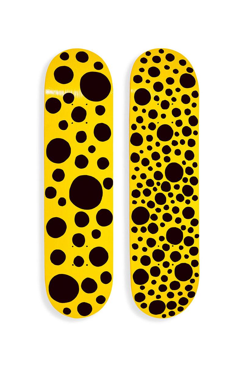 MoMA Design Store 推出折扣奈良美智、草间弥生联名滑板板身系列