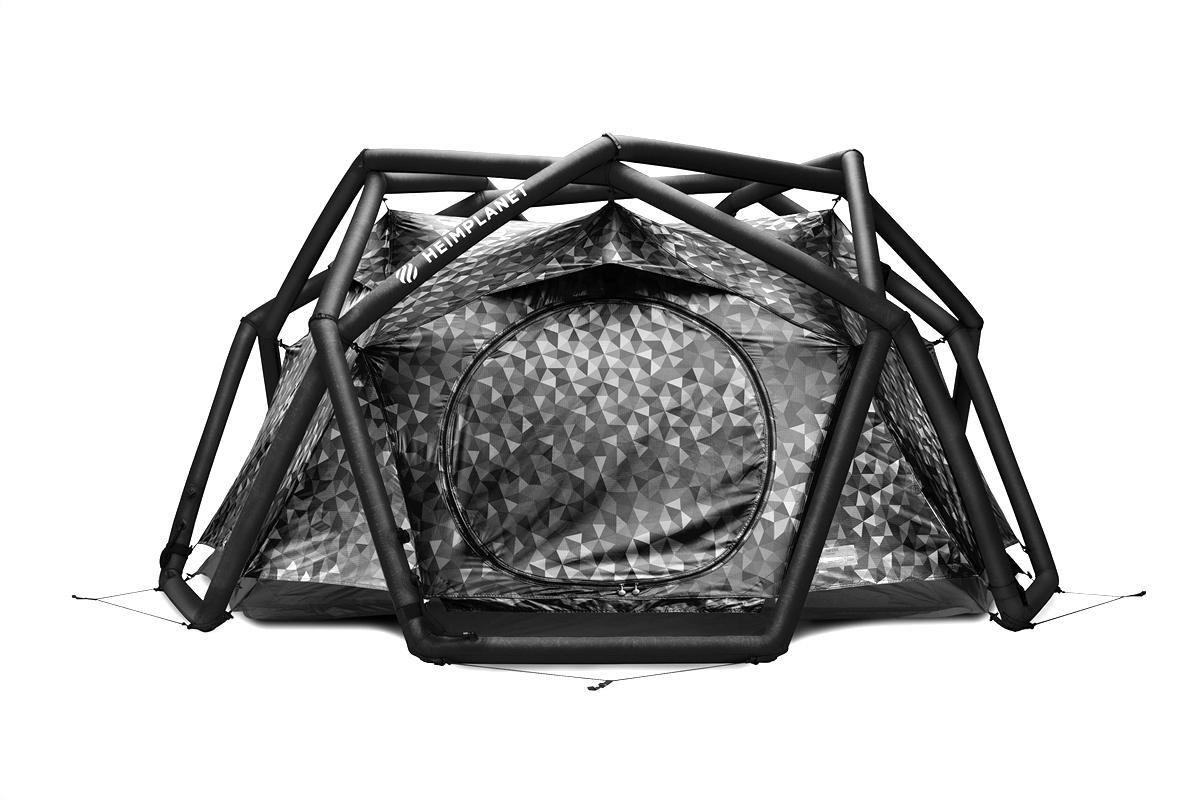 Heimplanet 推出全新别注几何造型 Cave Tent