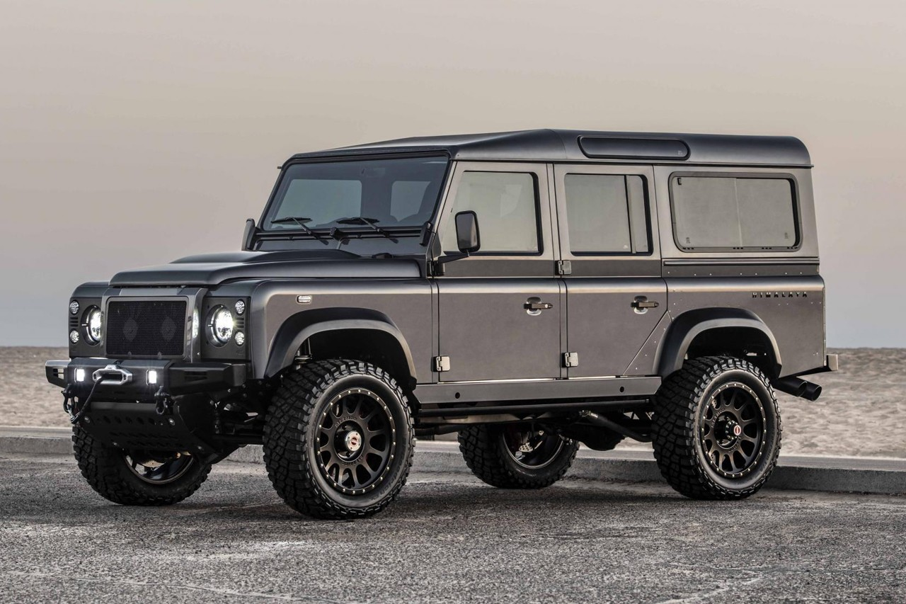 Himalaya 打造 Land Rover Defender 全新「Summit Series」改装版本