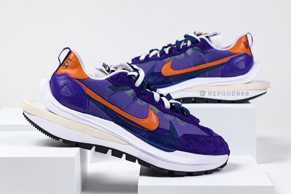率先近赏 sacai x Nike Vaporwaffle 2021 春季联名鞋款之上脚图辑