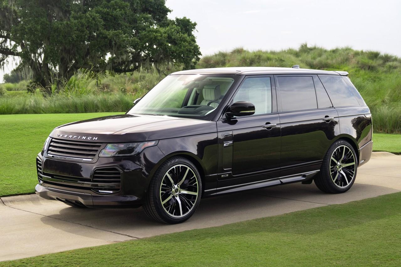 Overfinch 发表全球 5 辆 Range Rover Autobiography LWB 顶级改装车款