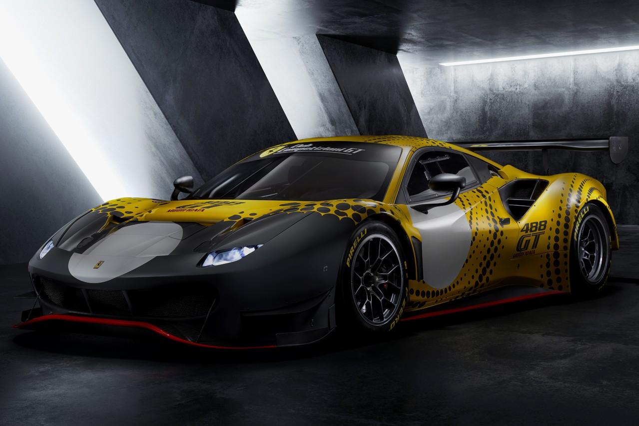 Ferrari 正式发表终极赛道车型 488 GT Modificata