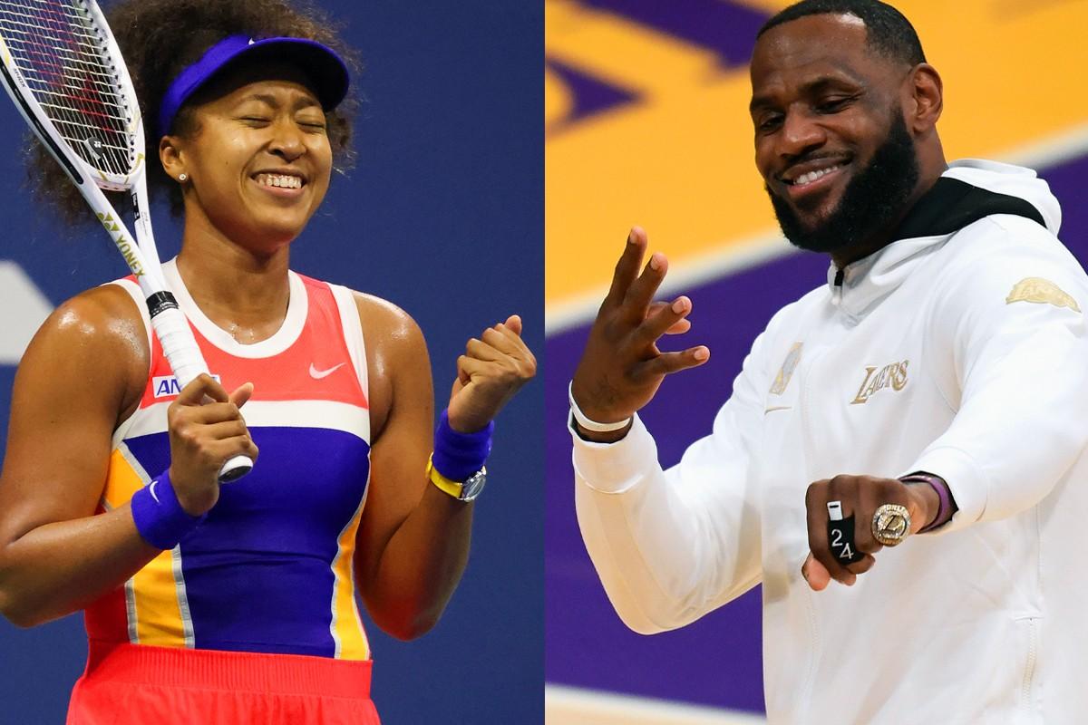 《美联社》评选 LeBron James、Naomi Osaka 为年度最佳男女运动员