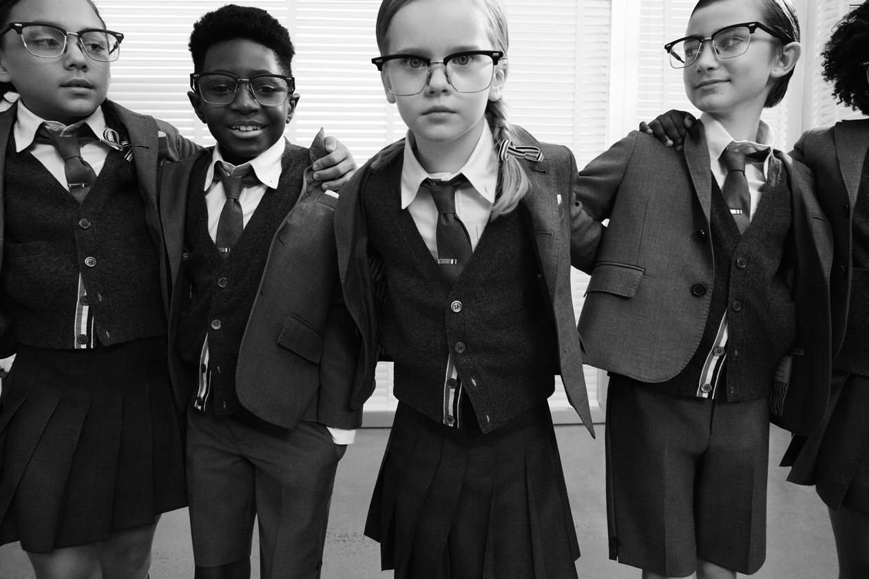 Thom Browne 正式发表旗下首个童装系列