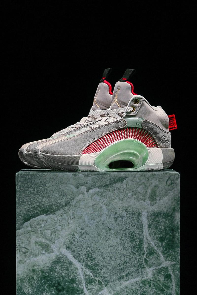 好运玉石-CLOT x Air Jordan 35 最新联名鞋款正式登场