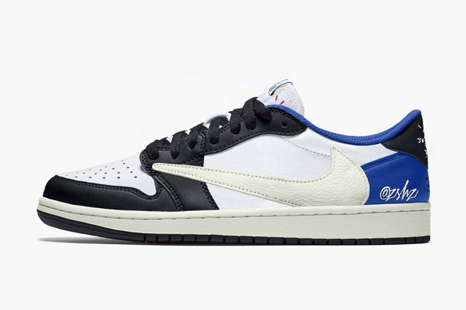 fragment design x Travis Scott x Air Jordan 1 Low 三方联名鞋款发售情报曝光