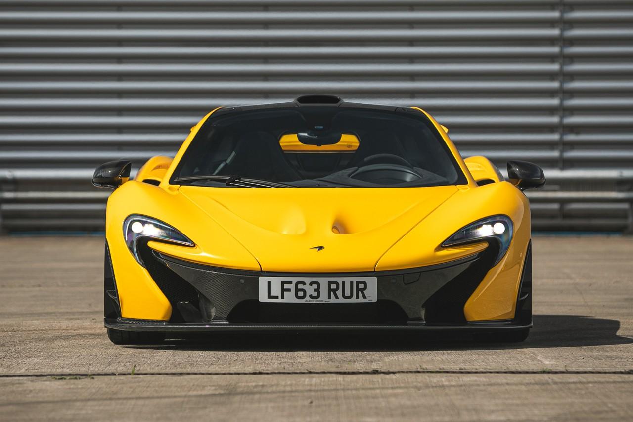 传奇超跑 McLaren P1 全球量产首辆编号车型即将展开拍卖