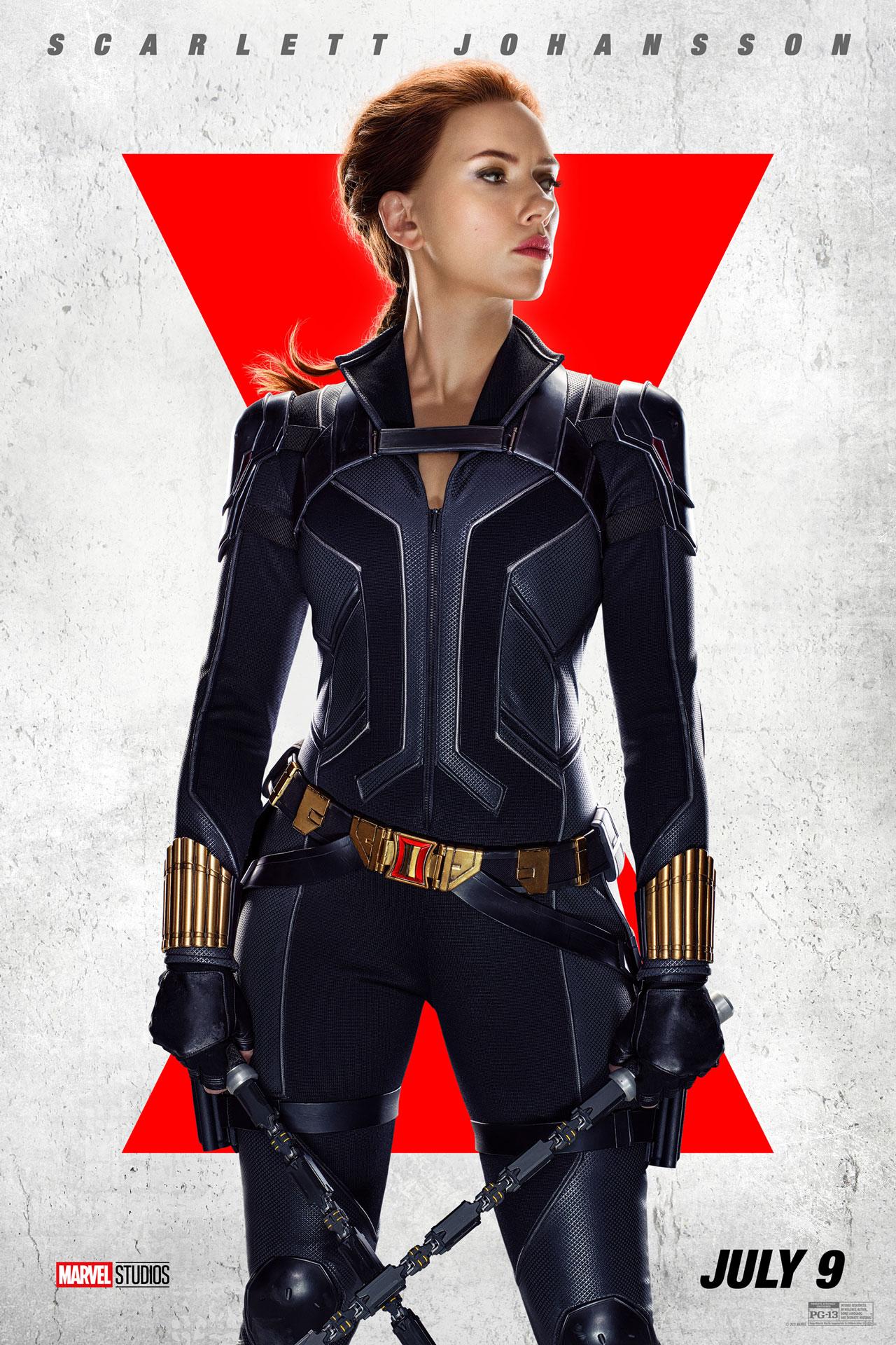 Marvel 之 MCU 第四阶段英雄大片《黑寡妇 Black Widow》角色海报曝光