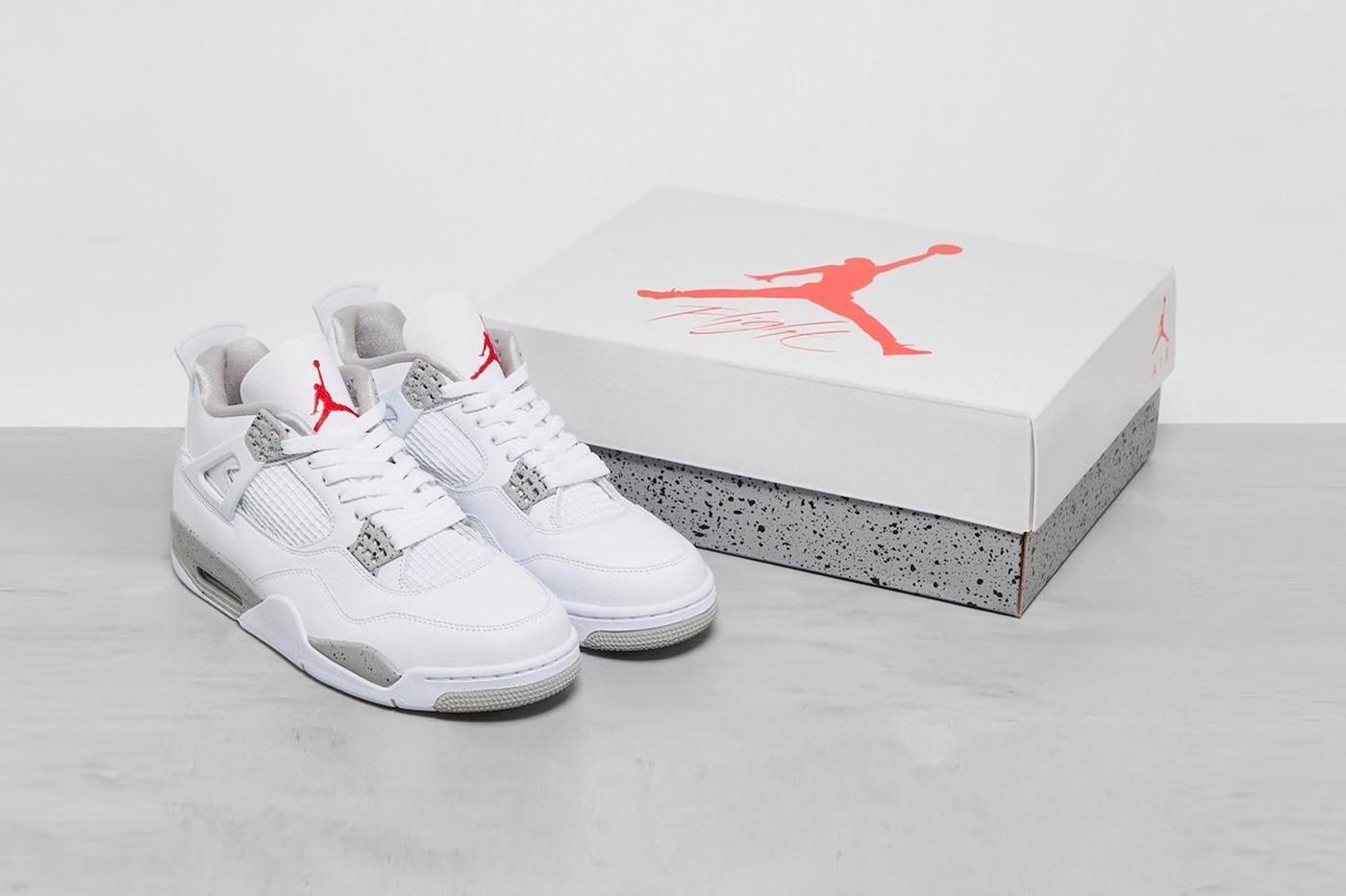 率先近赏 Air Jordan 4 最新配色「White Oreo」