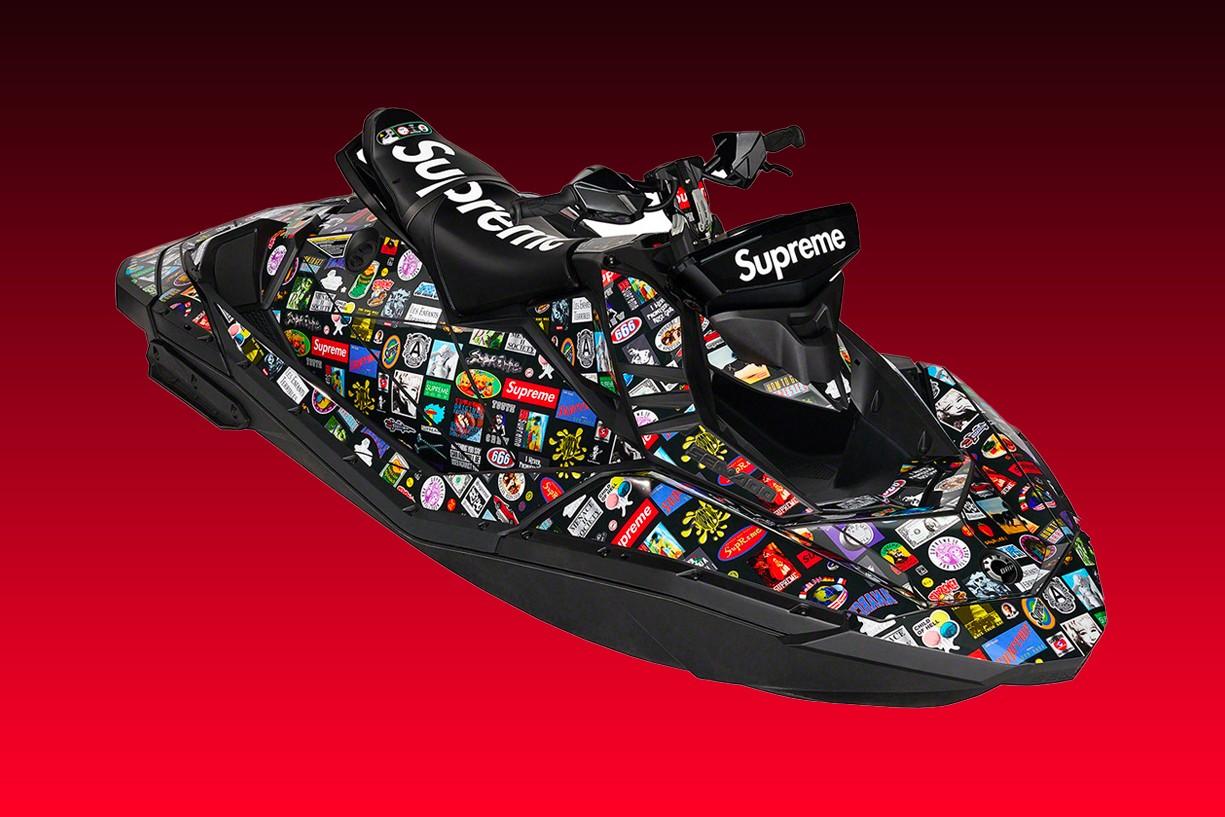 Supreme x Sea-Doo 联名 Spark TRIXX 水上摩托车发售情报公开