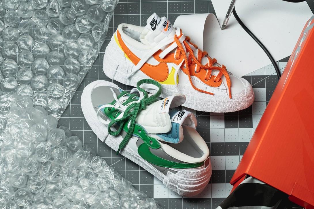 sacai x Nike Blazer Low 最新联名系列正式登场