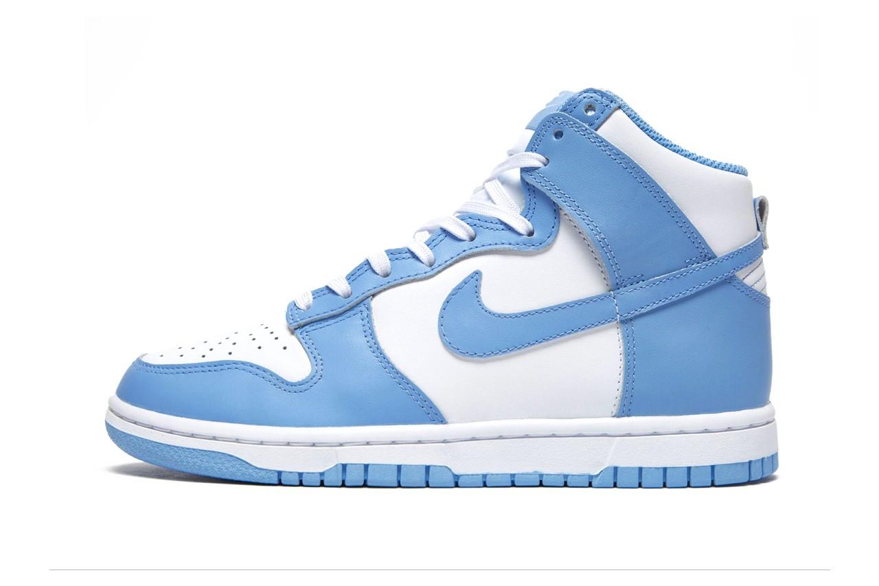 Nike Dunk High人气配色「University Blue」即将登场