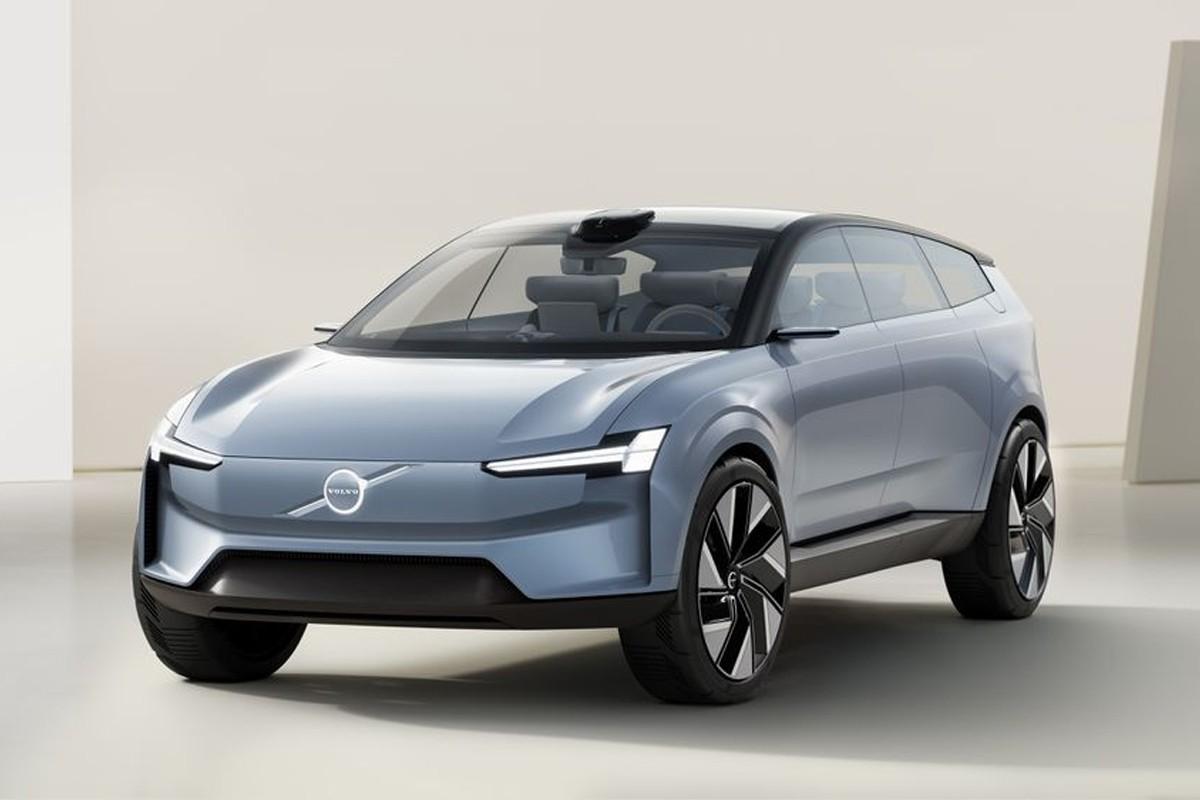 Volvo 发表全新电能车型 Concept Recharge