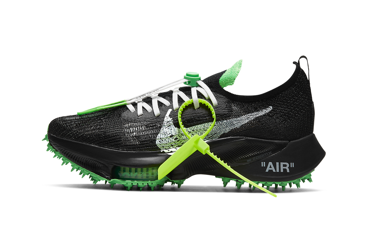 率先预览 Off-White™ x Nike Air Zoom Tempo NEXT% 官方系列图辑