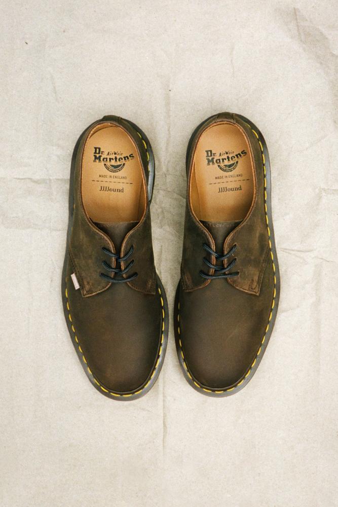 Dr.Martens x JJJJound 英产系列鞋履正式登场