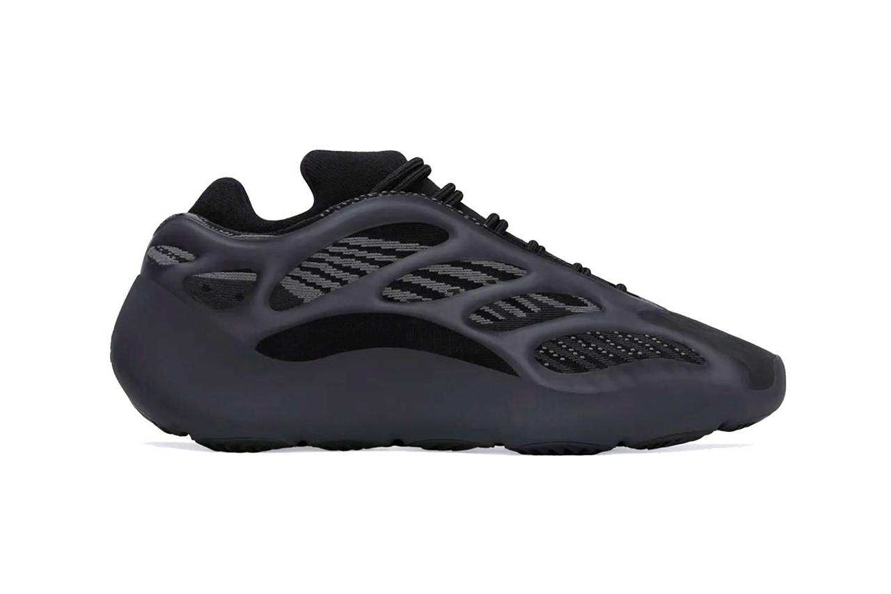 蓝色夜光!adidas YEEZY 700 V3 最新配色「Dark Glow」率先曝光