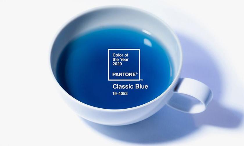 采用 2020 年代表色,Pantone x TEALEAVES 合作推出藍色茶飲