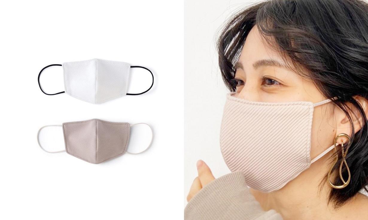 日本配资官方网 品牌 SNIDEL 推出「小颜口罩」