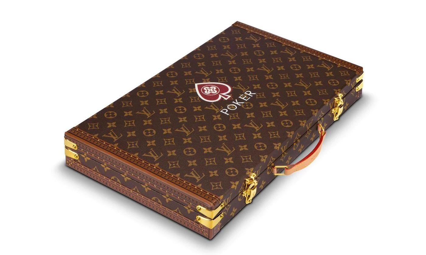 扑克牌、骰子和筹码?Louis Vuitton 推出奢华 Poker 套组