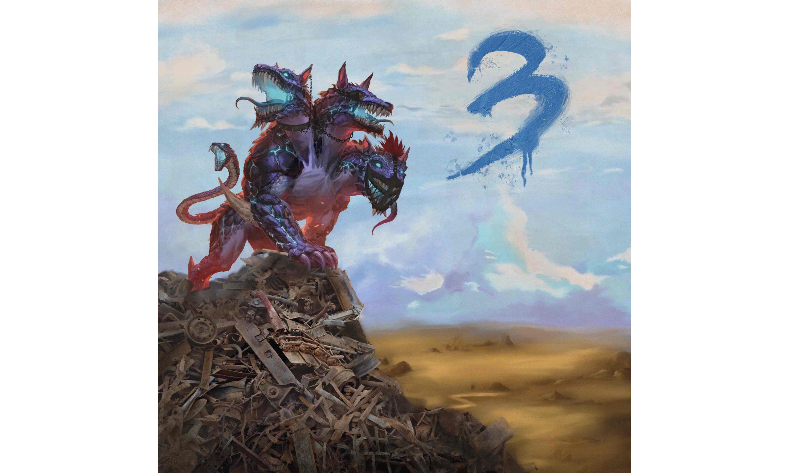 深蓝⼉童 INDIGOCHXXXREN《三只头的狗》专辑今日发行