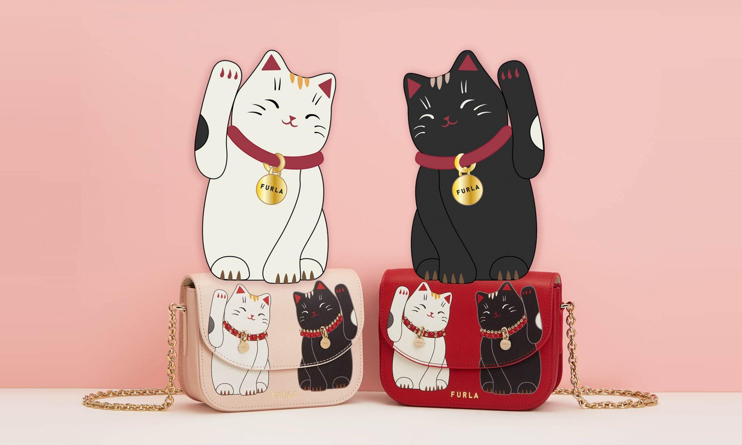 可爱招财猫,FURLA LITTLE CATS 胶囊系列发布