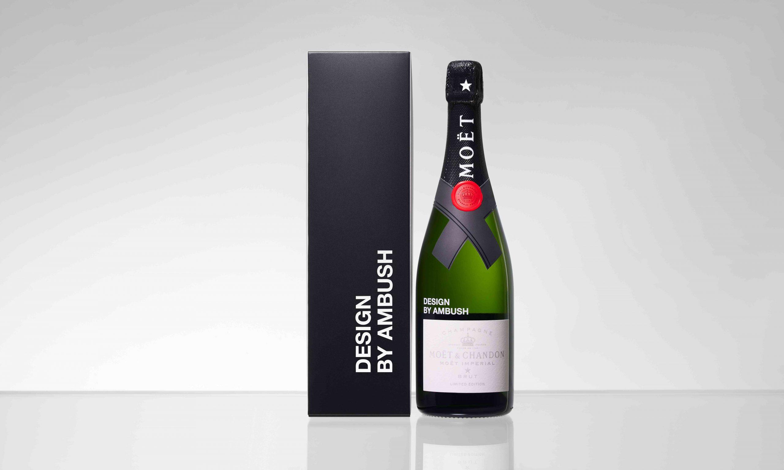酩悦香槟首款全球联名之作 MOËT & CHANDON x AMBUSH 联名限量版中国发售
