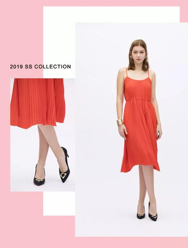 le saunda莱尔斯丹2019春夏稜动调系列女鞋