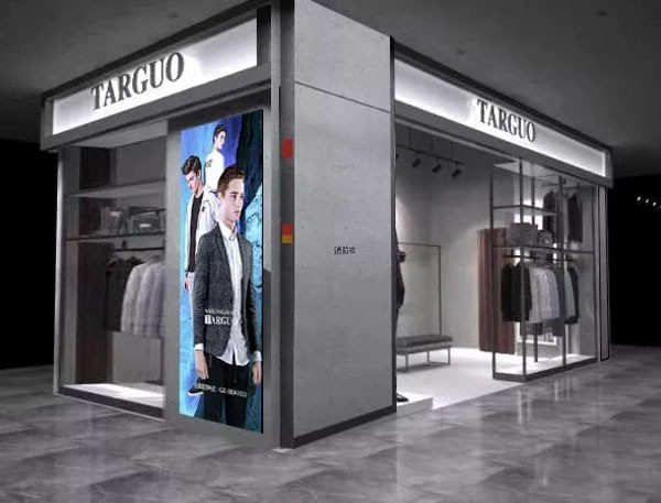 TARGUO时尚男装广州安华汇店店铺形象