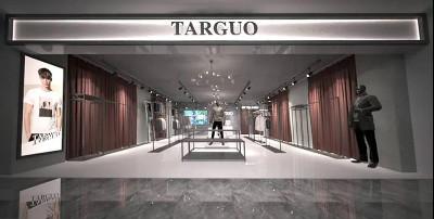 它钴男装品牌新店开业,新店持续热闹火爆中