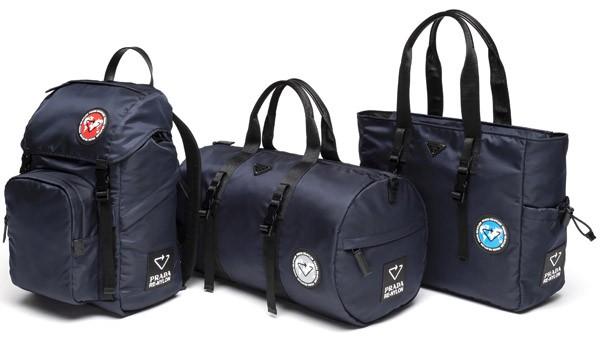 Prada推出独特的再生尼龙手袋系列