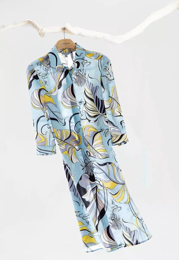 WHITE COLLAR女装2019夏季新款印花单品