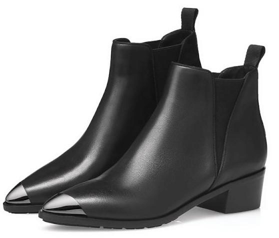 GIRDEAR哥弟2019秋季新款切尔西靴