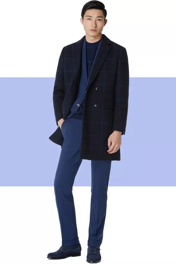 KALTENDIN卡尔丹顿2019冬季男装新款大衣
