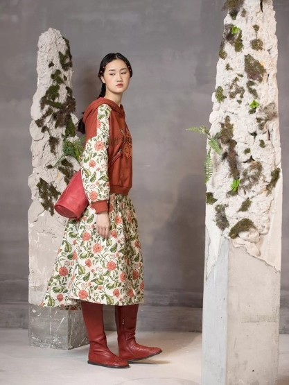 C&P一城画一2019冬季女装新品,撷取自然之美