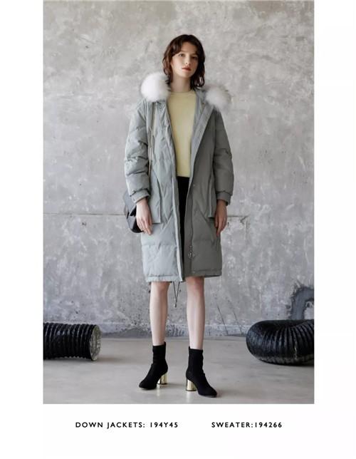 wbwq碧可女装2019冬季新款搭配流行趋势