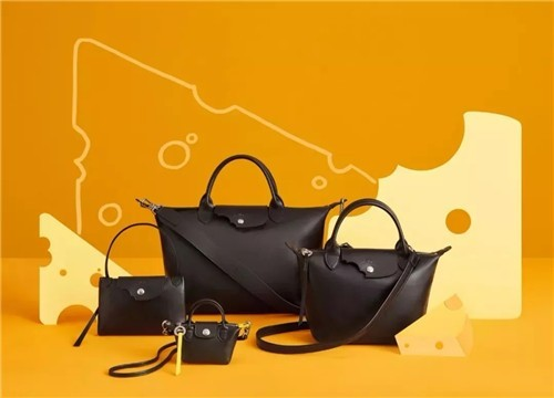 Mr. Bags x Longchamp 2020 限量芝士包合作系列
