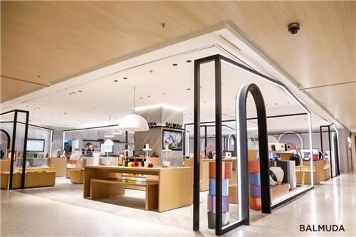 BALMUDA巴慕达上海华润时代广场重装开业