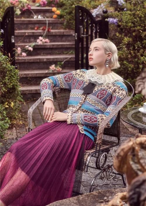 LWEST朗文斯汀女装2020春季新品系列:极繁主义的镜像演绎