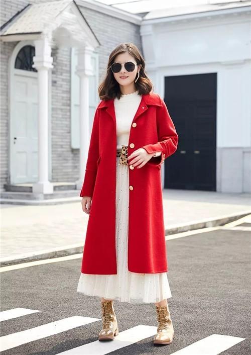 FOREVERMORE纷漫女装经典红色呢大衣:2020的正确打开方式!