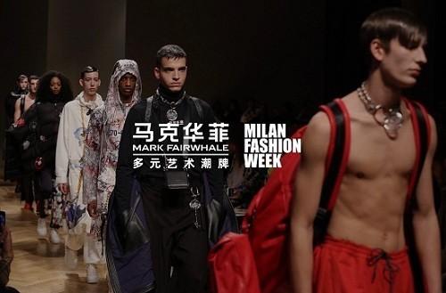"""唯一受邀登陆米兰最高级别Runway的中国潮牌,马克华菲用中国文化唱响新时代的""""东方红!"""""""