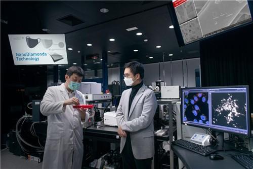 郑志刚:新世界集团再斥资千万研纳米钻石杀菌口罩